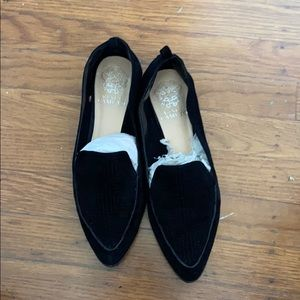 Vince camuto pointy loafers